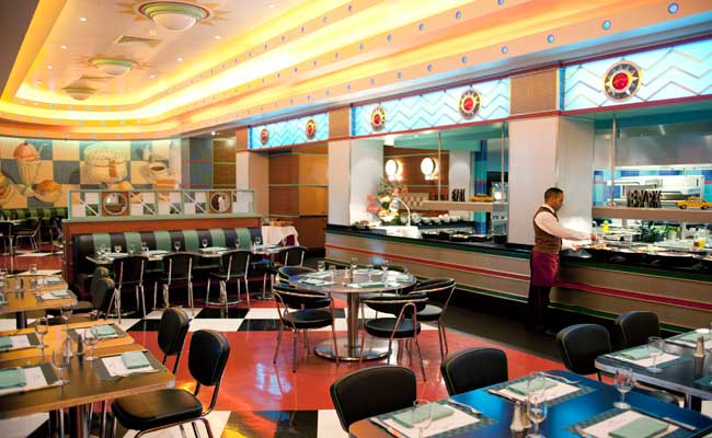 Parkside Diner, Disneys Hotel New York