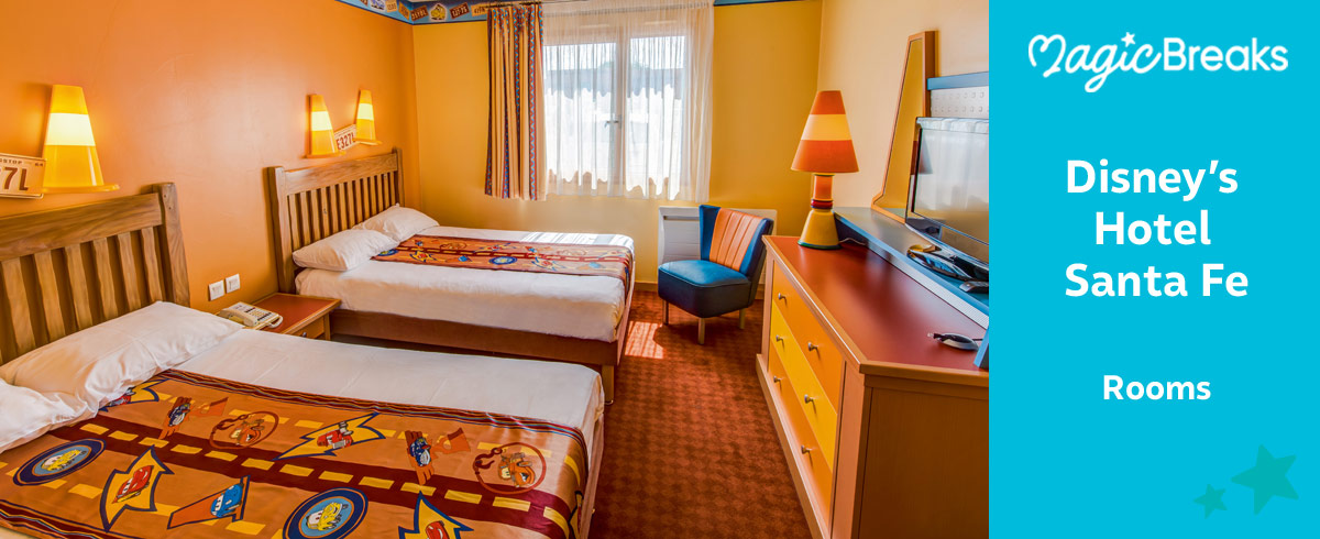 Rooms at Hotel Santa Fe, Disneyland Paris